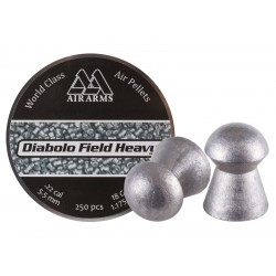 Air Arms Diabolo Field Heavy .22 Cal (5.52mm), 18 gr - 250ct