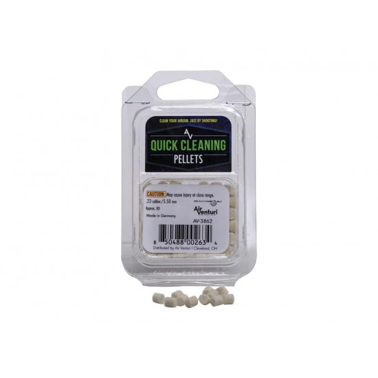 Air Venturi Quick Cleaning Pellets .22 Cal - 80 ct