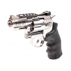 Black Ops Exterminator BB Revolver, Chrome