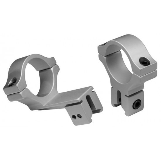 BKL Offset 30mm Rings, Dovetail, Silver