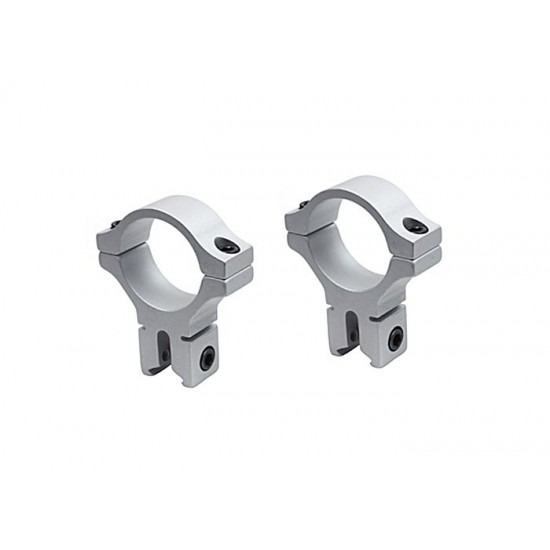 BKL 30mm Rings, Dovetail, Silver