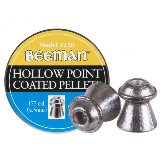 Beeman Hollow Point Coated .177 Cal, 7.2 gr - 500 ct