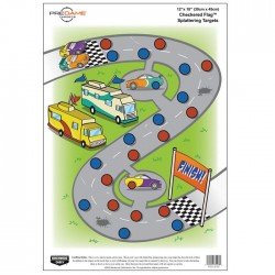 Birchwood Casey Dirty Bird Checkered Flag Game Targets
