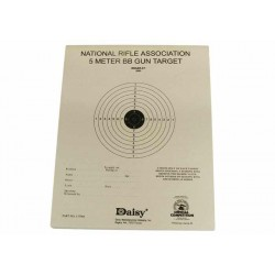 Daisy Official NRA 5-Meter Air Rifle Target, 50 ct