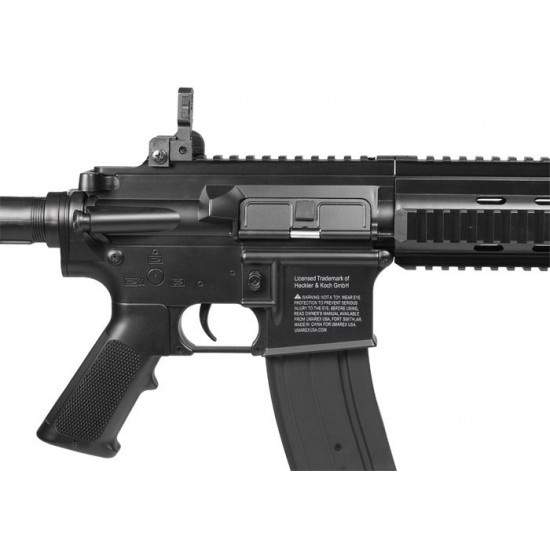H&K 416 AEG Airsoft Rifle, Black