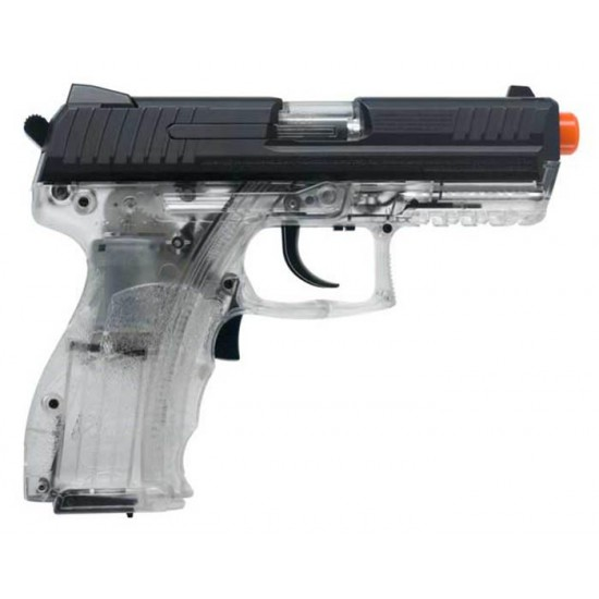 H&K P30 Electric Airsoft Pistol, Clear