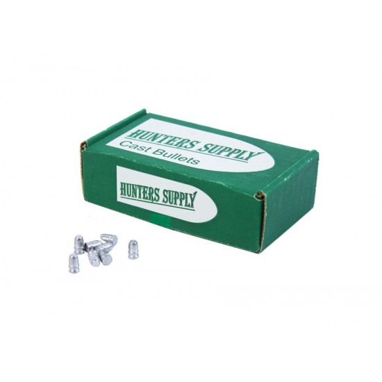Hunters Supply Flat Point .25 Cal, 49 g - 100 ct