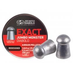 JSB Diabolo Exact Monster Redesigned .22 Cal, 25.39 gr - 200 ct