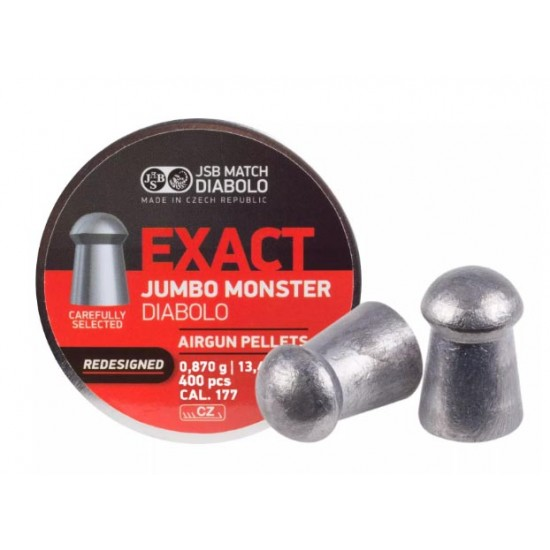 JSB Diabolo Exact Monster Redesigned .177 Cal, 13.43 gr - 400 ct