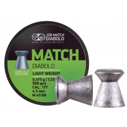 JSB Green Match Light Weight .177 Cal, 7.33 gr - 500 ct