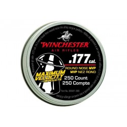 Winchester Maximum Velocity .177 Cal, 4.32 gr - 250 ct
